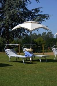 Playa San Lorenzo - Particolare ombrellone