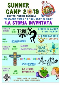 Programma SUMMER CAMP (turno 04) 2019