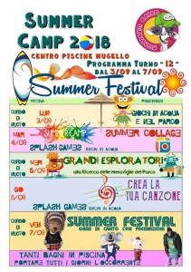 SUMMER CAMP - Turno 12