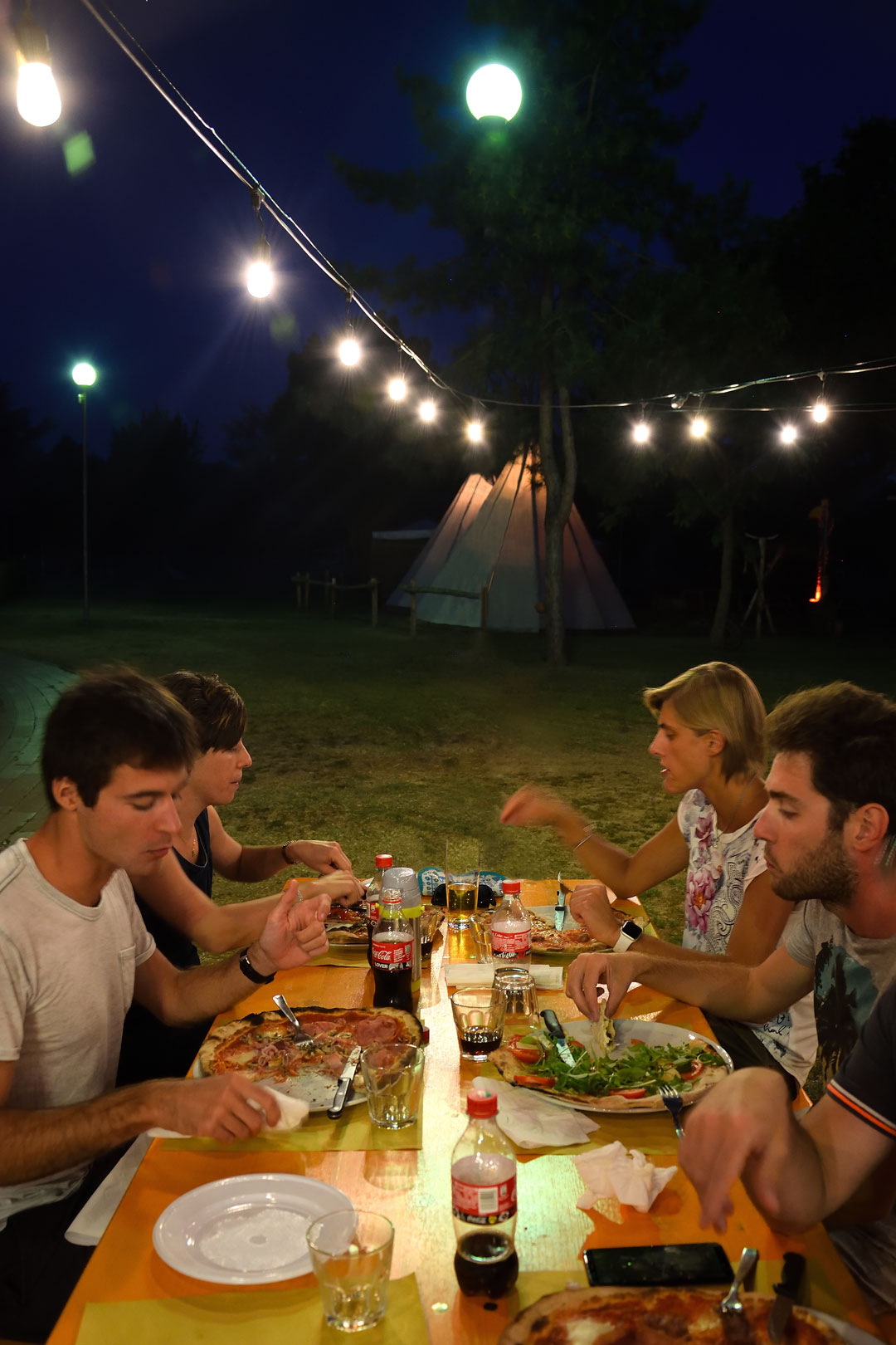 Mangiare all'aperto a Borgo San Lorenzo